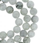 Fio de Pedra - Pietra® - Jaspe Kiwi Polida - 8mm
