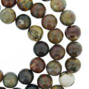 Fio de Pedra - Pietra® - Jaspe Mix - 8mm