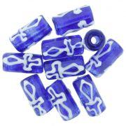 Firma de Vidro - Ogum - Azul