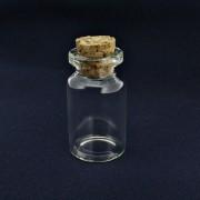 Garrafinha de Vidro com Rolha - 22x40mm - 01 Peça