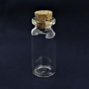 Garrafinha de Vidro com Rolha - 22x50mm - 01 Peça