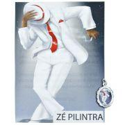 Medalha Zé Pilintra + Folheto