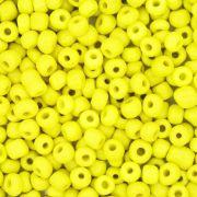 Miçanga 6/0 - 4.0x3.0mm - Amarela