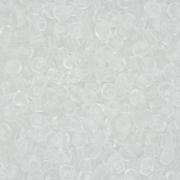 Miçanga 6/0 - 4.0x3.0mm - Translúcida