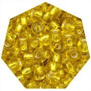 Miçanga Jablonex / Preciosa® - 5/0 [4,6mm] - Amarelo Transparente - 500g