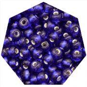 Miçanga Jablonex / Preciosa® - 5/0 [4,6mm] - Azul Transparente - 500g