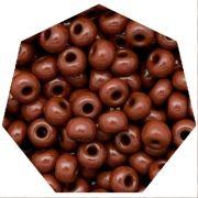 Miçanga Jablonex / Preciosa® - 5/0 [4,6mm] -  Marrom - 500g