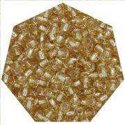Miçanga Jablonex / Preciosa® - 5/0 [4,6mm] - Ouro Novo Transparente - 500g