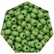 Miçanga Jablonex / Preciosa® - 5/0 [4,6mm] -  Verde Claro - 500g