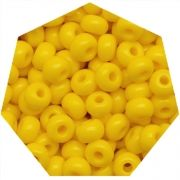 Miçanga Jablonex / Preciosa® - 6/0 [4,1mm] - Amarelo - 500g