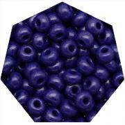 Miçanga Jablonex / Preciosa® - 6/0 [4,1mm] - Azul Fosco - 500g