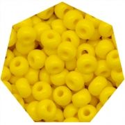 Miçanga Jablonex / Preciosa® - 9/0 [2,6mm] - Amarelo - 500g