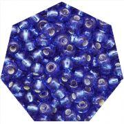 Miçanga Jablonex / Preciosa® - 9/0 [2,6mm] - Azul Transparente - 500g