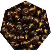 Miçanga Jablonex / Preciosa® - 9/0 [2,6mm] - Marrom Transparente - 500g