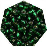 Miçanga Jablonex / Preciosa® - 9/0 [2,6mm] - Verde Transparente - 500g