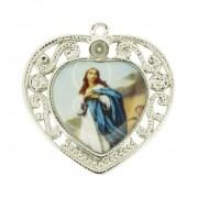 Nossa Senhora Imaculada Conceição - Níquel e Resina - 36mm