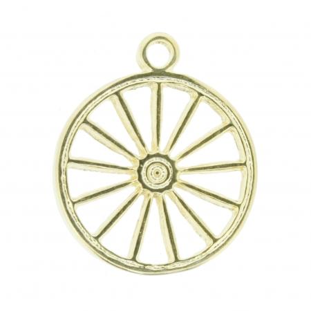 Roda Cigana - Dourada - 23mm