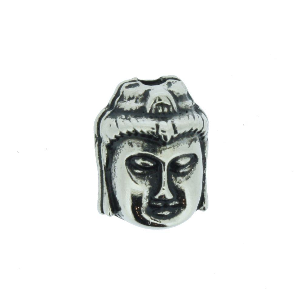 Buda - Preto Níquel - 13mm  - Universo Religioso® - Artigos de Umbanda e Candomblé