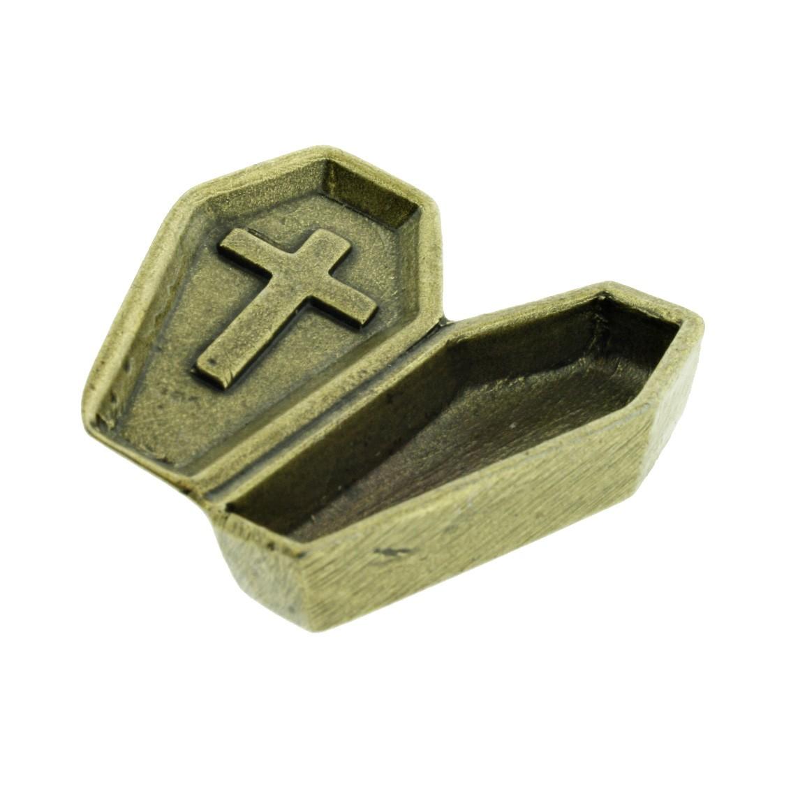 Caixão - Ouro Velho - 43mm  - Universo Religioso® - Artigos de Umbanda e Candomblé