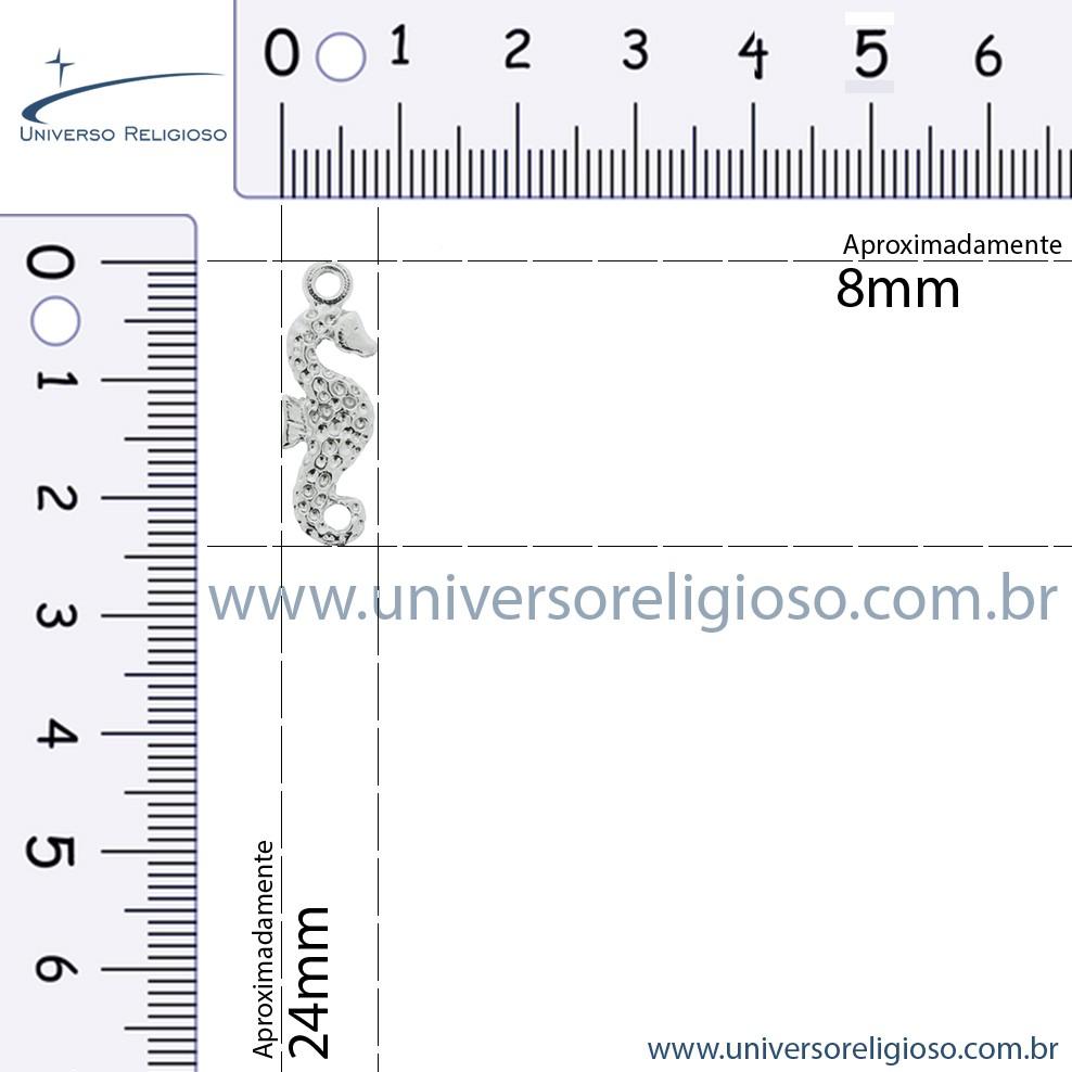 Cavalo Marinho - Dourado - 25mm  - Universo Religioso® - Artigos de Umbanda e Candomblé