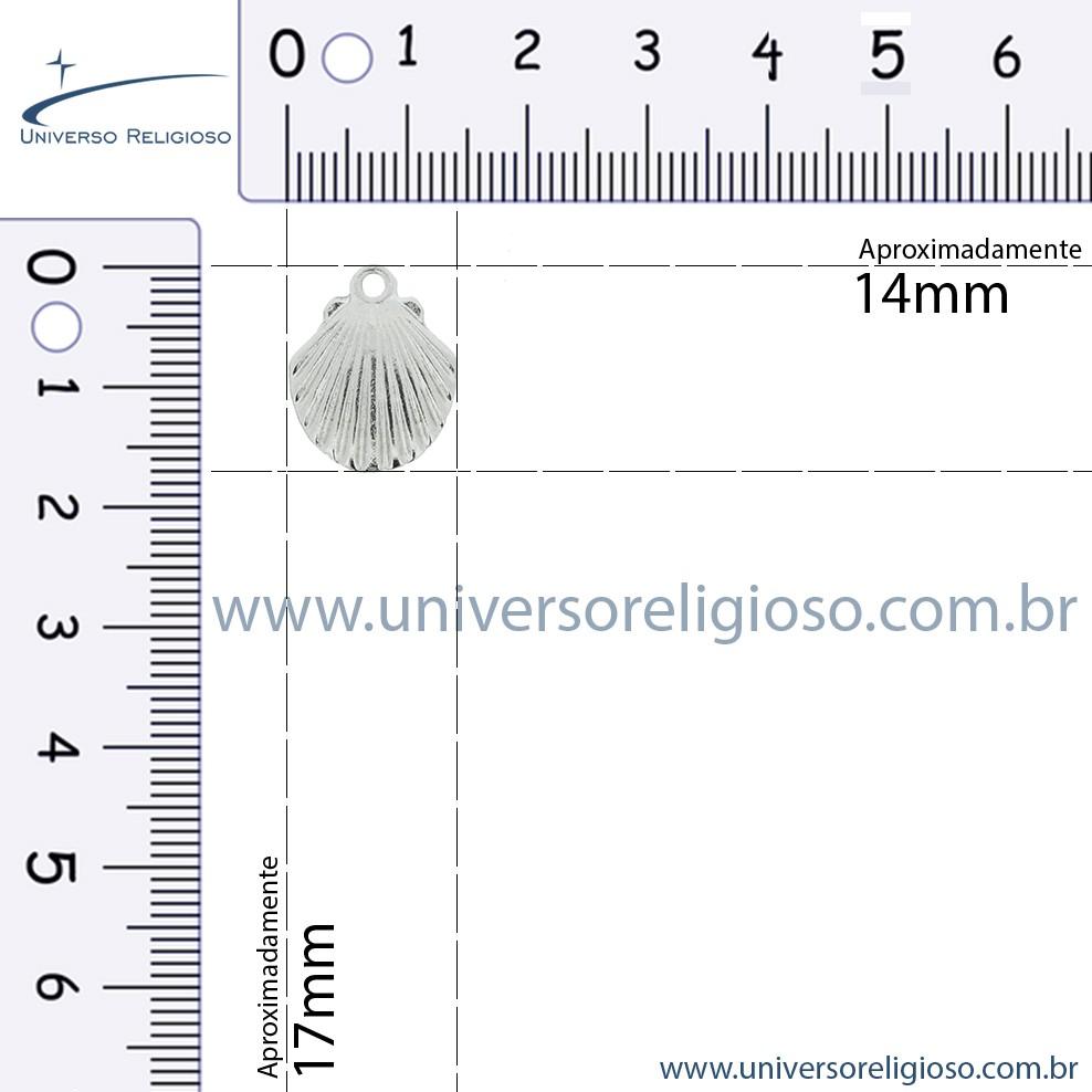 Concha - Ouro Velho - 17mm  - Universo Religioso® - Artigos de Umbanda e Candomblé