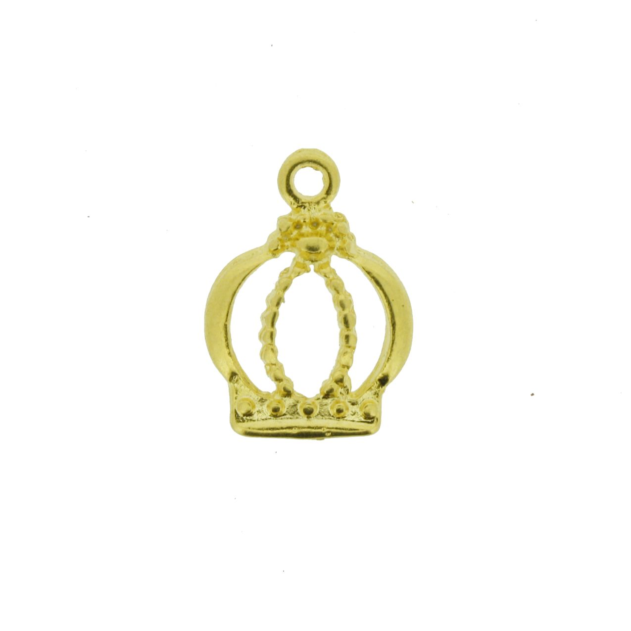 Coroa - Dourada - 17mm   - Universo Religioso® - Artigos de Umbanda e Candomblé