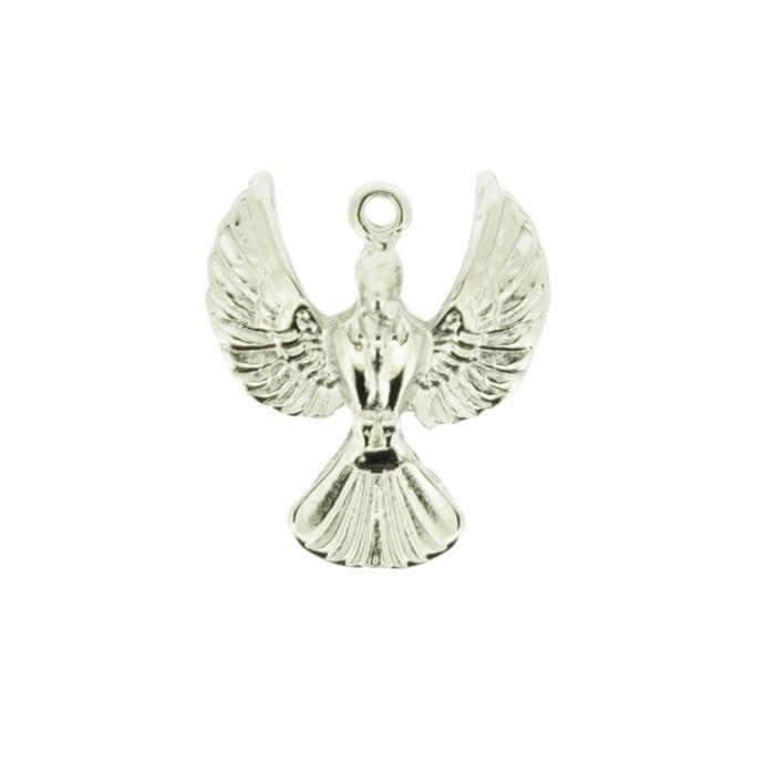 Espírito Santo - Níquel - 28mm - 01 Peça  - Universo Religioso® - Artigos de Umbanda e Candomblé