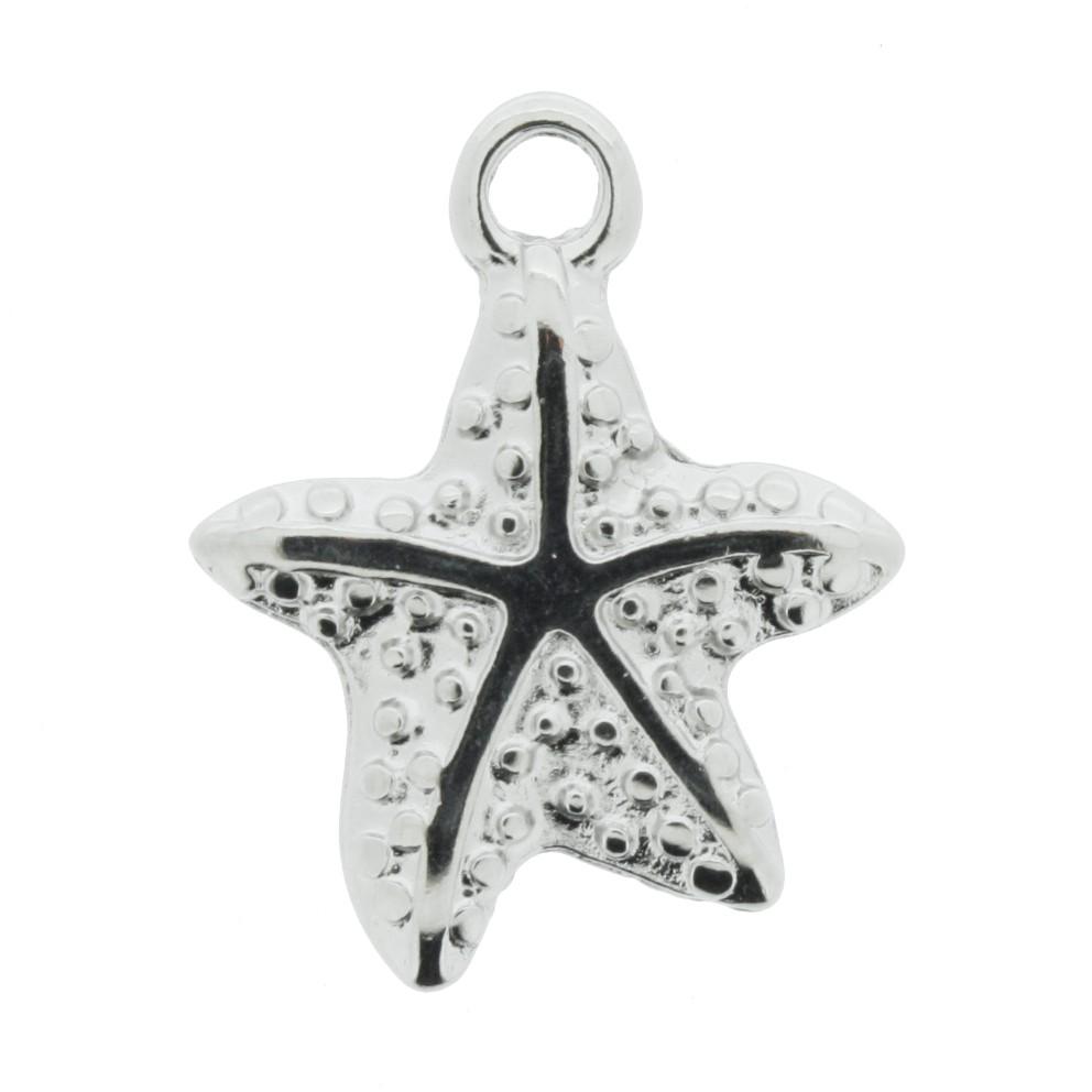 Estrela do Mar - Níquel - 21mm  - Universo Religioso® - Artigos de Umbanda e Candomblé