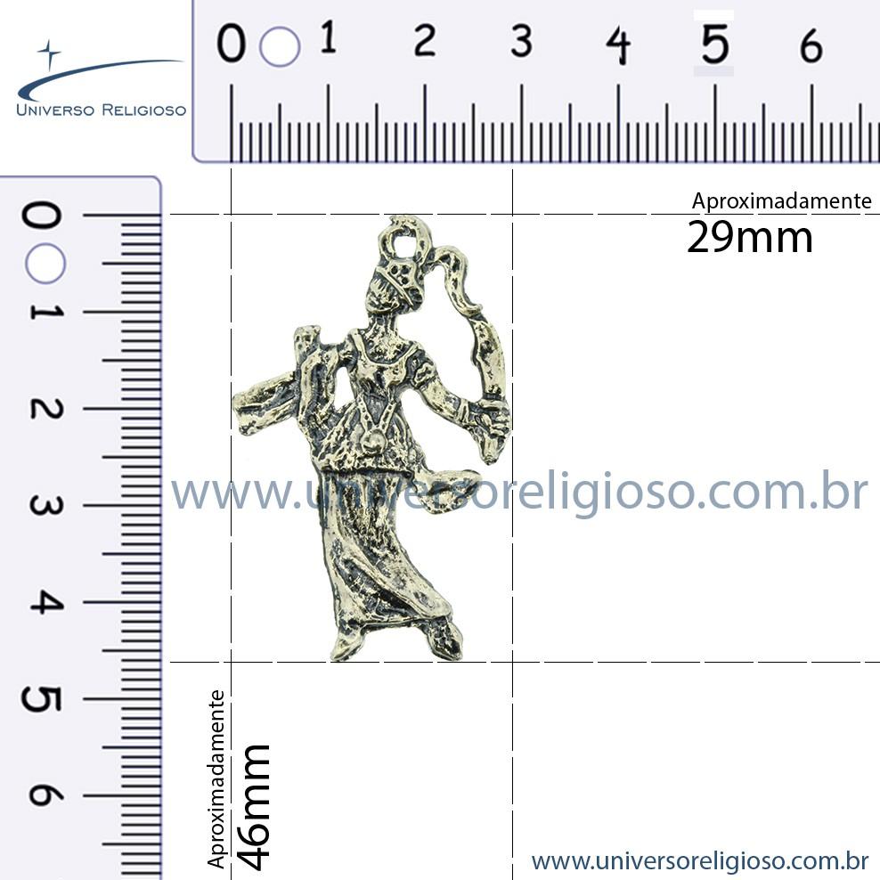 Ewá - Latão Velho - 46mm  - Universo Religioso® - Artigos de Umbanda e Candomblé