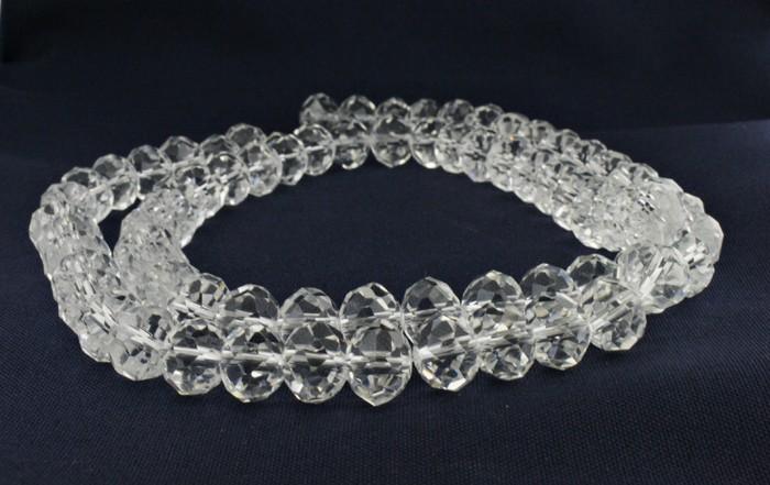 Fio de Cristal - Transparente - 12mm - Pneu  - Universo Religioso® - Artigos de Umbanda e Candomblé