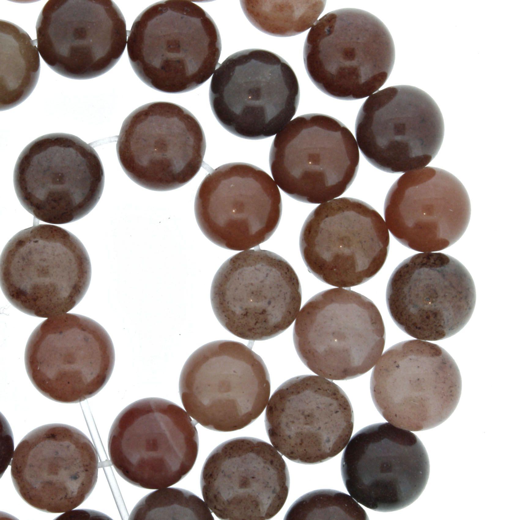 Fio de Pedra - Pietra® - Ágata Rosé - 8mm  - Universo Religioso® - Artigos de Umbanda e Candomblé