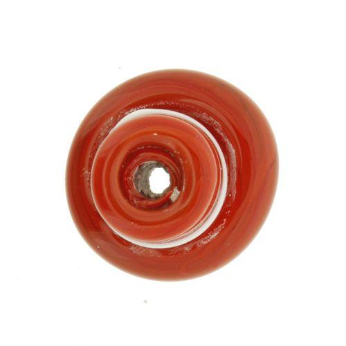 Firma de Vidro - Chapéu Vermelho e Branco  - Universo Religioso® - Artigos de Umbanda e Candomblé