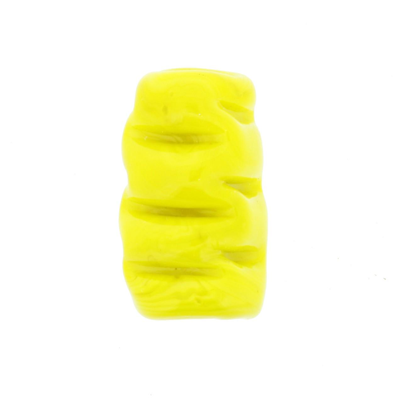Firma de Vidro Frisada - Amarela  - Universo Religioso® - Artigos de Umbanda e Candomblé