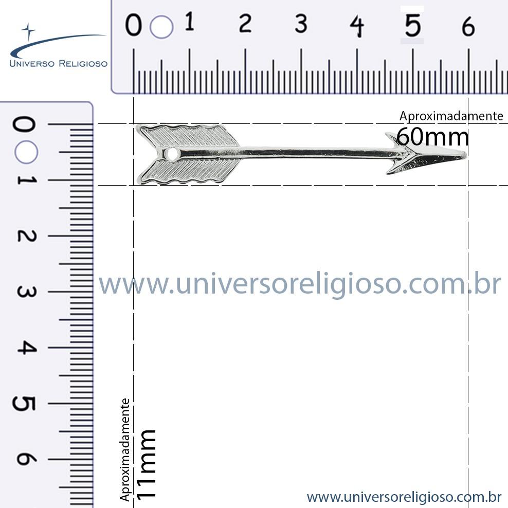 Flecha - Ouro Velho - 60mm  - Universo Religioso® - Artigos de Umbanda e Candomblé