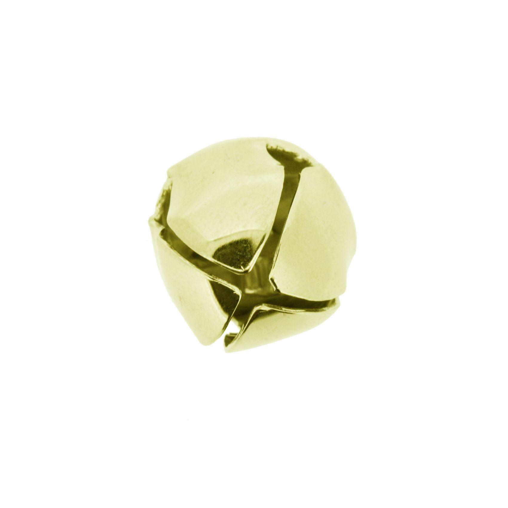 Guizo - Xaôro nº3 - Dourado - 01 peça  - Universo Religioso® - Artigos de Umbanda e Candomblé