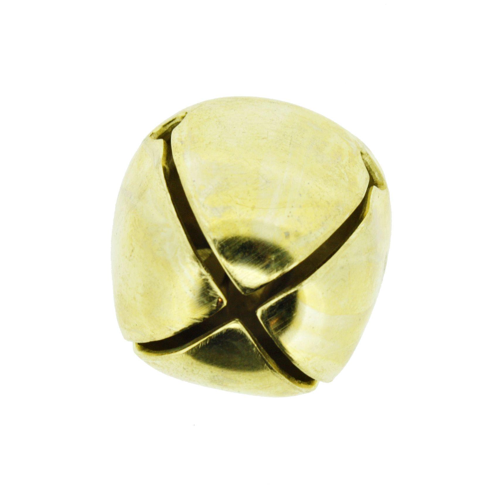 Guizo - Xaôro nº5 - Dourado - 01 peça  - Universo Religioso® - Artigos de Umbanda e Candomblé