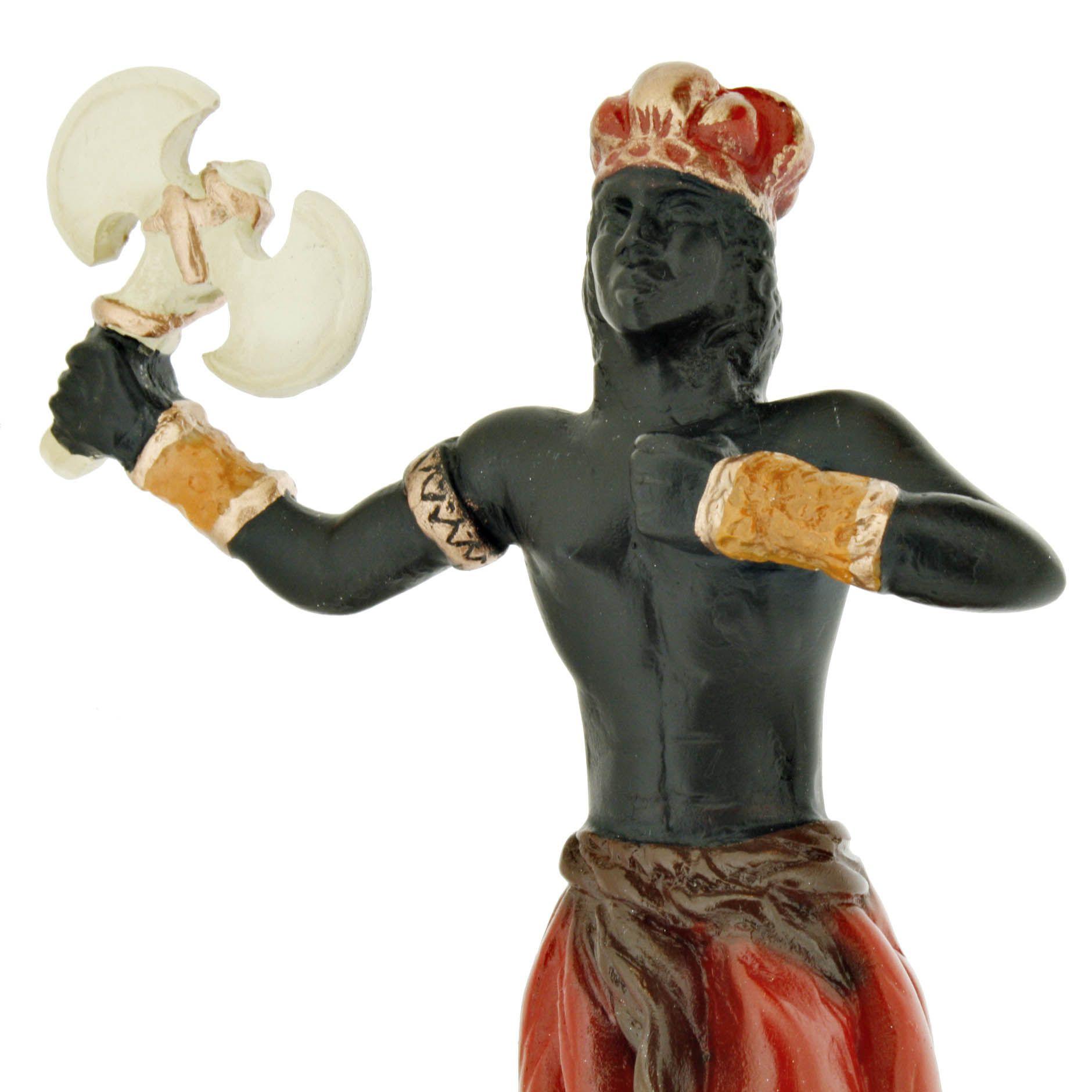 Imagem Orixá - Xangô - 15cm  - Universo Religioso® - Artigos de Umbanda e Candomblé