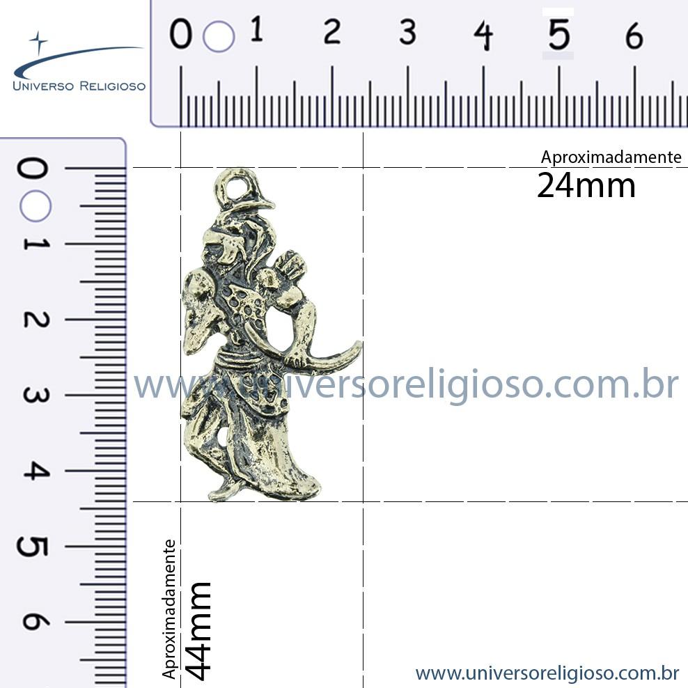 Logun Edé - Latão Velho - 44mm  - Universo Religioso® - Artigos de Umbanda e Candomblé