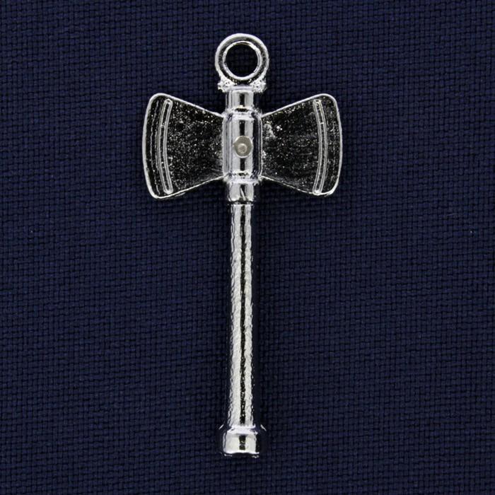 Machado - Níquel - 39mm  - Universo Religioso® - Artigos de Umbanda e Candomblé