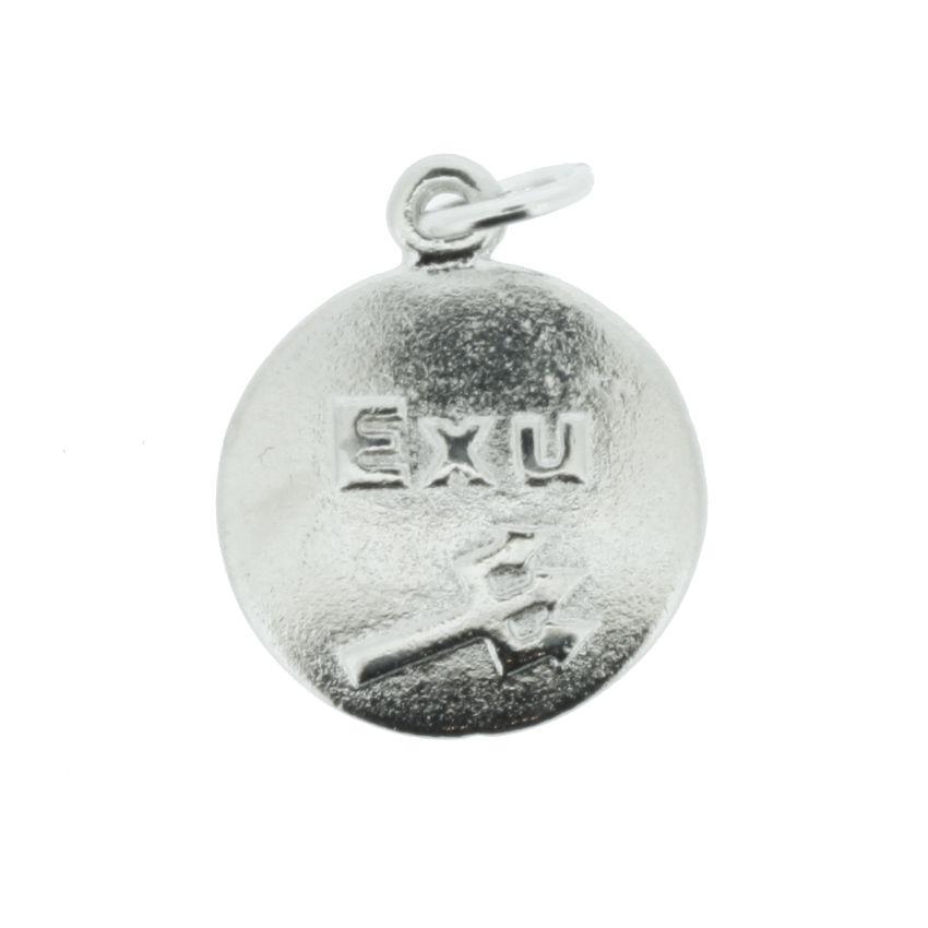 Medalha Exú - Níquel - 20mm  - Universo Religioso® - Artigos de Umbanda e Candomblé
