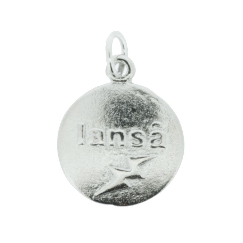 Medalha Iansã - Níquel - 20mm  - Universo Religioso® - Artigos de Umbanda e Candomblé