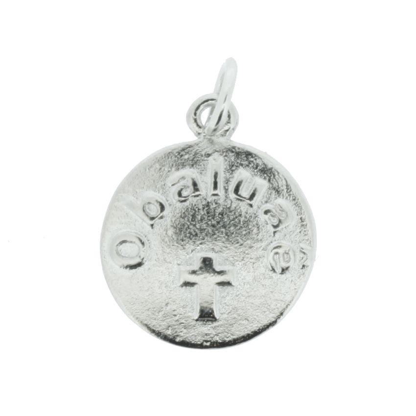 Medalha Obaluaê - Níquel - 20mm  - Universo Religioso® - Artigos de Umbanda e Candomblé