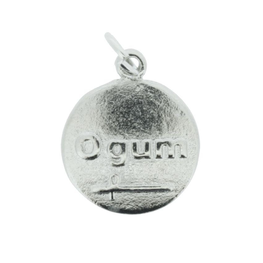 Medalha Ogum - Níquel - 20mm  - Universo Religioso® - Artigos de Umbanda e Candomblé