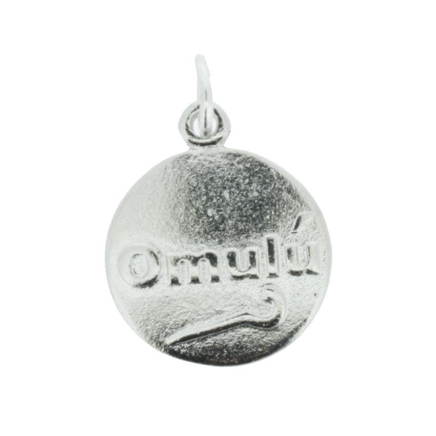 Medalha Omulú - Níquel - 20mm  - Universo Religioso® - Artigos de Umbanda e Candomblé