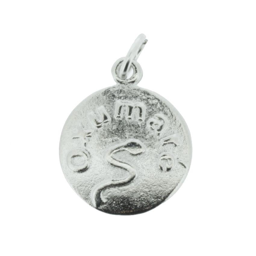 Medalha Oxumaré - Níquel - 20mm  - Universo Religioso® - Artigos de Umbanda e Candomblé