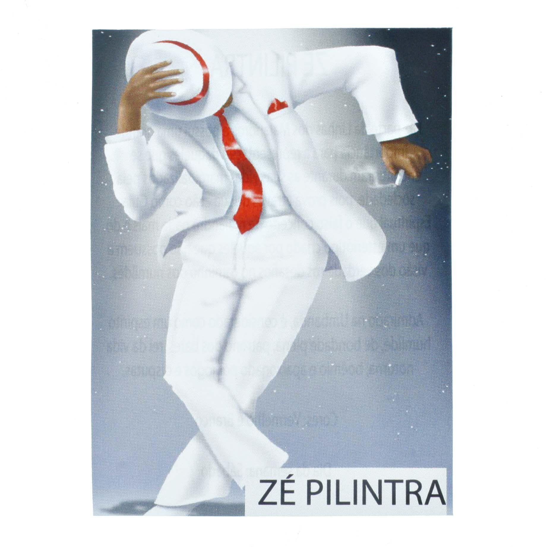 Medalha Zé Pilintra + Folheto  - Universo Religioso® - Artigos de Umbanda e Candomblé