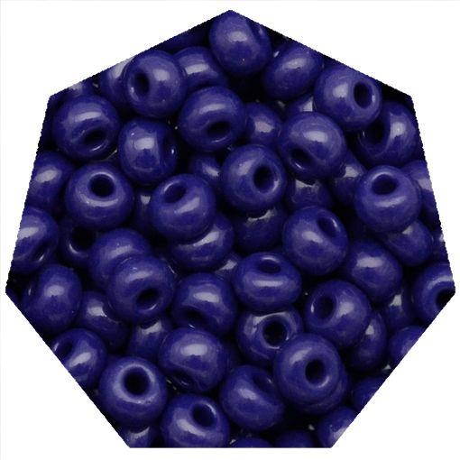 Miçanga Jablonex / Preciosa® - 5/0 [4,6mm] -  Azul Escuro - 500g  - Universo Religioso® - Artigos de Umbanda e Candomblé