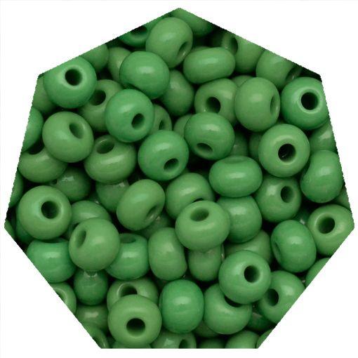 Miçanga Jablonex / Preciosa® - 5/0 [4,6mm] -  Verde - 500g  - Universo Religioso® - Artigos de Umbanda e Candomblé