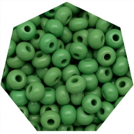 Miçanga Jablonex / Preciosa® - 9/0 [2,6mm] - Verde - 500g  - Universo Religioso® - Artigos de Umbanda e Candomblé