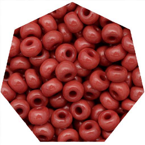 Miçanga Jablonex / Preciosa® - 9/0 [2,6mm] - Vermelho - 500g  - Universo Religioso® - Artigos de Umbanda e Candomblé